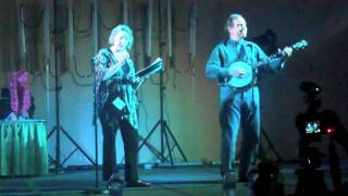 Ellen McLain voice of GLaDOS singing 'Want You Gone' live at Anime Midwest 2011