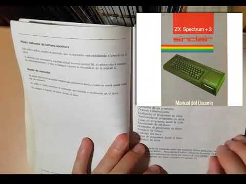 SPECTRUM +3 - | Programas Manual Usuario 1/2 | 1987. Amstrad Plc