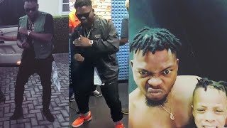 "Olamide & His Son Kill Shaku Shaku With New Dance ""Kpakujemu"""