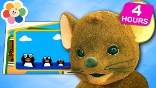 It's Learning Time! | Learn Shapes, Numbers, Counting, Colors & More! | Squeak! Videos for Kids