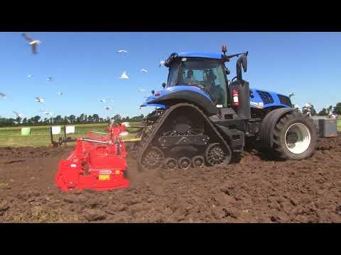 9520rx Deere & T8 410 Smart Track Tractor