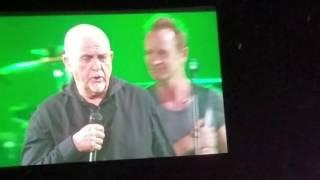 Solsbury Hill Peter Gabriel Live