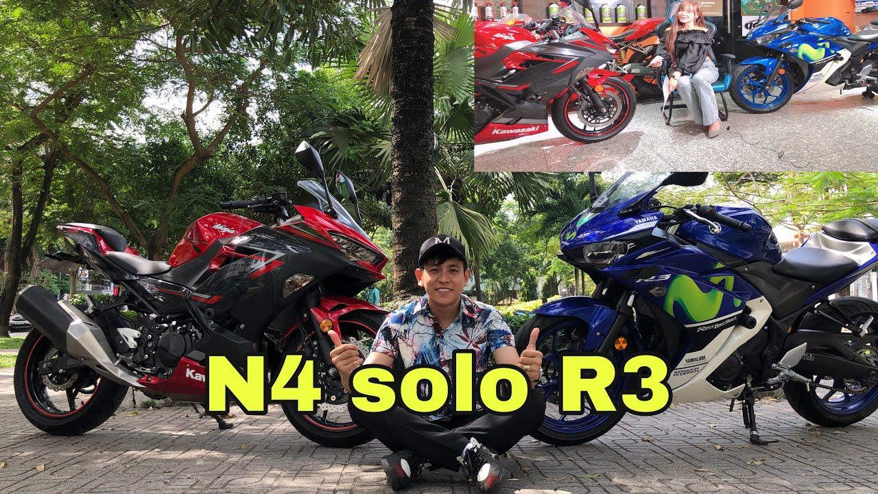 Kawasaki Ninja400 Đối Đầu YAMAHA R3 HUYỀN THOẠI   MinhBiker
