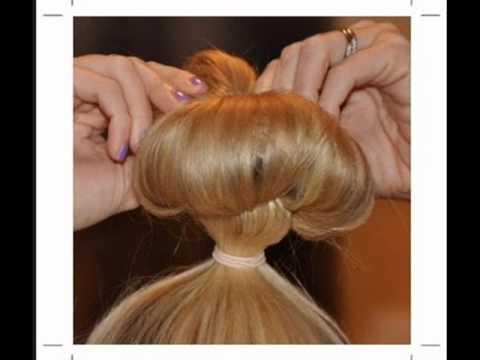 Koreli kızların Topuz  Saç Stili Nasıl Yapılır.? İşte  cevap