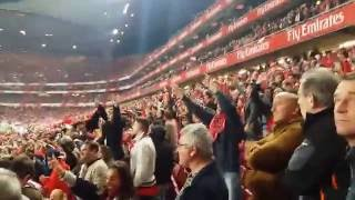 SL Benfica - Sporting CP | Fim da partida | Bailando