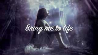 Evanescence~ Bring Me To Life (lyrics)