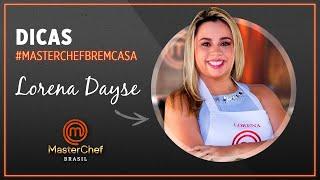 BAIÃO DE DOIS com Lorena Dayse | #MASTERCHEFBREMCASA