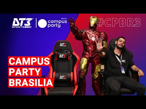 DT3 na Campus Party Brasília 2019!