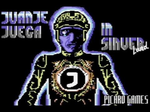 RETROJuegos Homebrew - Juanje Juega en SinverLand (c) 2020 Picaro Games p/ Commodore 64