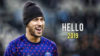 Neymar Jr ► Hello - Adele ● Skills & Goals 2018/19 | HD