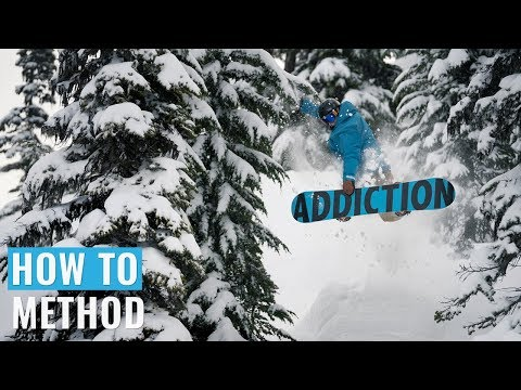 How To Method On A Snowboard