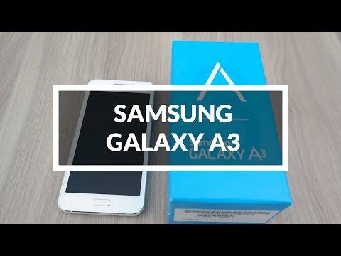 فتح صندوق جهاز جلاكسي أي 3 | Unboxing Galaxy A3