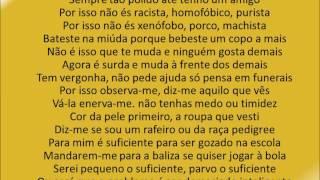 Carlão feat  Boss AC-E se fosse Contigo (Lyrics in portuguese)