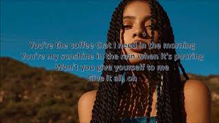 Best Part #SoulFoodSessions x Kiana (LYRICS)
