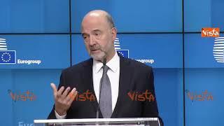 """Moscovici: """"Italia e Francia devono restare vicini, da Di Maio provocazioni irresponsabili"""""""