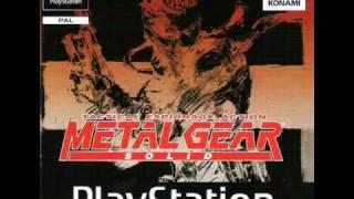 """Metal Gear Solid """"Warhead Storage"""" (OB)"""