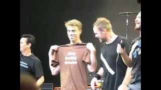 Pearl Jam - Matt Fucking Cameron shirt - Ottawa 14th September 2011