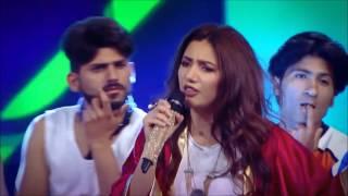Mahira khan rap and Dance 2017 width=