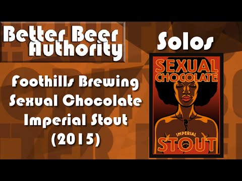 Foothills Brewing Sexual Chocolate - BBA Solos
