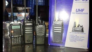 3.ARAMA SETTING HT SPC SH10 SINGLE BAND UHF menjadi FREKUENSI VHF