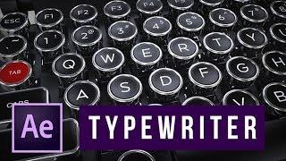 Tutorial After Effects: Membuat Efek Typewriter atau Mesin Ketik