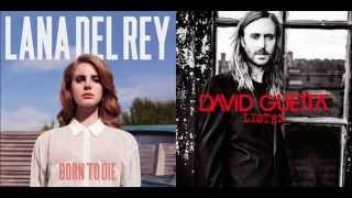 Lana Del Rey & David Guetta - Off To The Races / Hey Mama