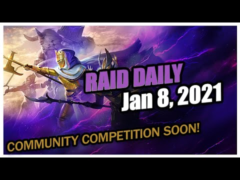 RAID Daily | Jan 8 | AI Issues | NEW Competition! | Storage Space Soon!