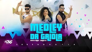 Medley da Gaiola - Kevin o Chris e Dennis Dj - Coreografia - Move Dance - Erro de Gravação