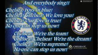 Chelsea Fc Song - No One Can Stop Us Now!!!