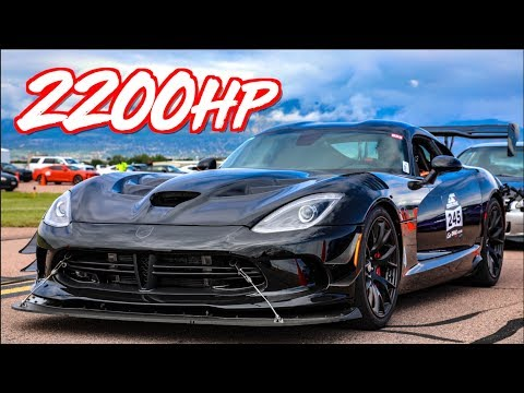 2200HP Sequential ACR Viper GAPS 1100HP Demon - 1100HP VS 2200HP Perspective Check!