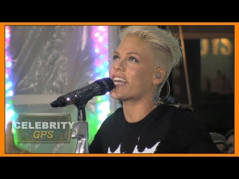 Pink claps back at haters after she postpones concert - Hollywood TV