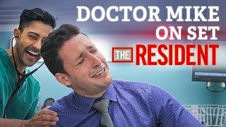 Doctor Mike On Set of The Resident! | Audition FAIL + Cast Interview width=