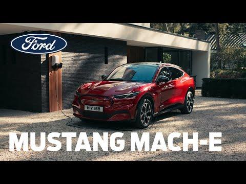 Mustang Mach-E   Nabíjení a dojezd   Ford Česká republika