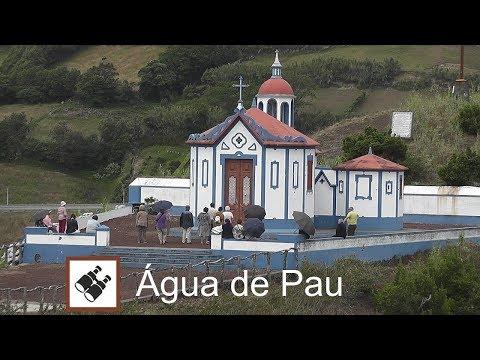 AZORES: Hermitage in Água de Pau (viewpoint) - São Miguel Island