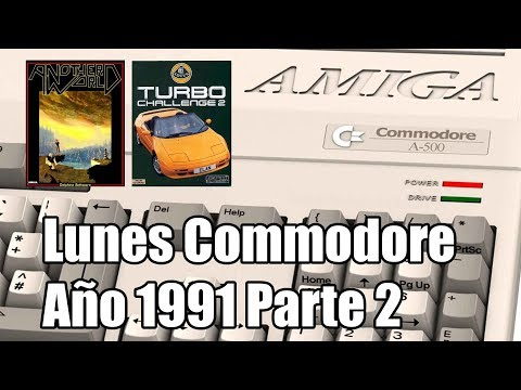 Lunes Commodore: Amiga 1991 Parte 2