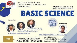 Webinar Series #8 BASIC SCIENCE