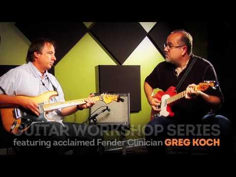 McNally Smith Presents: Greg Koch's Guitar Workshop Series | Lesson 9: Blues Licks