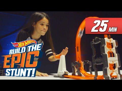 Epic Stunt Building Compilation   Build the Epic Stunt   Hot Wheels