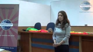 Ioana Adriana - Discurs improvizat