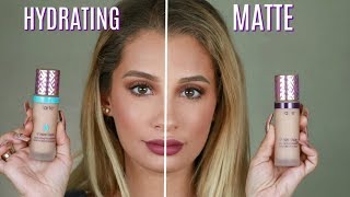 Watch TARTE COSMETICS SHAPE TAPE FOUNDATION REVIEW