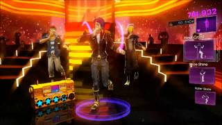 Dance Central 3 - Turn Me On - (Hard/100%/Gold Stars) (DC2)