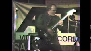 "ROBIN CROWE AND THE VELCROWS  ""HEY BARTENDER""  3-30-1985"