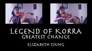 Legend of Korra Avatar State Theme (Violin Cover) II - Elizabeth Tsung