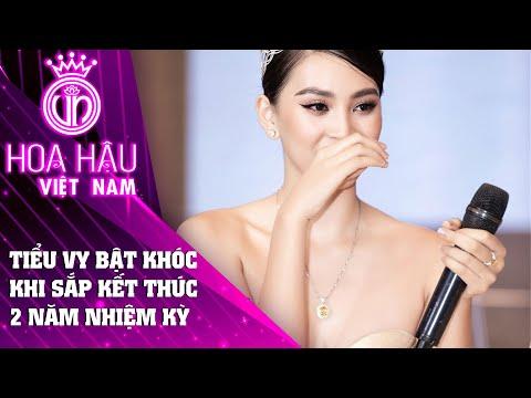 Hoa hậu Tiểu Vy bật khóc khi nhìn lại 2 năm nhiệm kỳ Đồng hành cùng HHVN 2020 | Tập 1