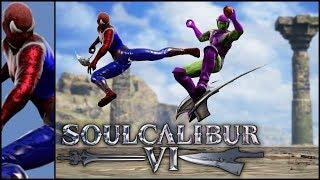 How to Create Spiderman VS Green Goblin | Character Creation Soul Calibur VI