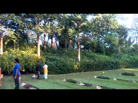 War cemetery, Comilla, Bangladesh