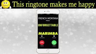 Latest iPhone Ringtone - Unforgettable Marimba Remix Ringtone - French Montana