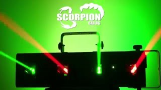 Chauvet DJ Scorpion Bar RG Quad-beam Aerial Effect Laser