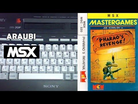 Pharao's Revenge (Eurosoft, 1988) MSX [682] Walkthrough