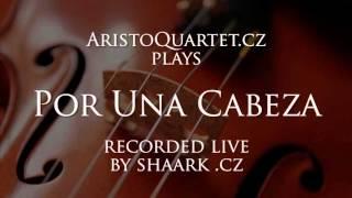 Tango Por Una Cabeza - instrumental violin cover - string quartet